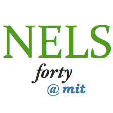 NELS 40 general session logo